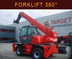 Forklift Telescopic 360
